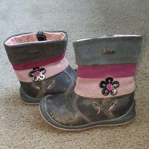Beeko leather boots size 7.5